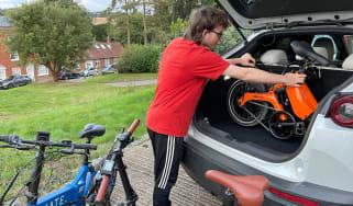 Best electric folding bikes header