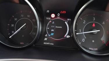 Jaguar E-Pace - dials detail