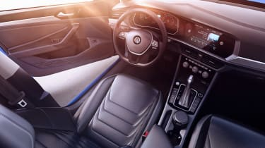 Volkswagen Jetta - cabin