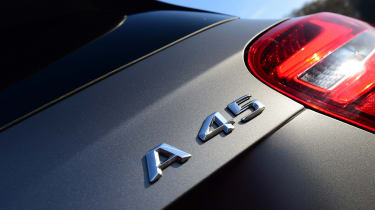 Mercedes-AMG A 45 - A 45 badge