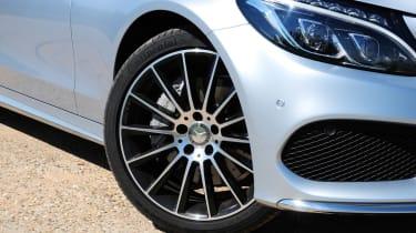 Mercedes C250 BlueTEC Estate AMG Line wheel