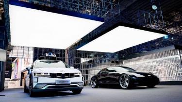 Hyundai EVs at Munich 2021