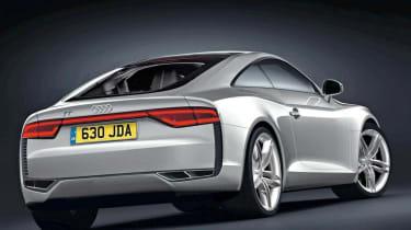 Audi TT rear three-quarters