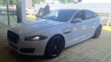 Jaguar XJ facelift at Goodwood