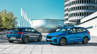 BMW X1 and X2 PHEV - static