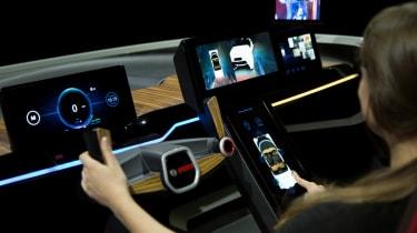 Bosch concept at CES 2017 - interact 2