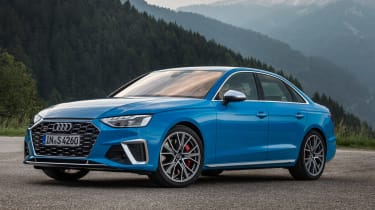 2019 Audi S4 saloon static