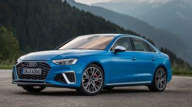 2019 Audi S4 saloon static
