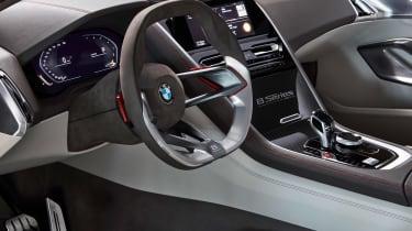 BMW Concept 8 Series - steering wheel