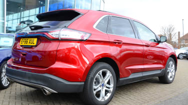 Long-term test review: Ford Edge - rear quarter
