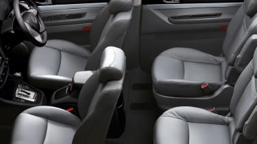 SsangYong Turismo - seats