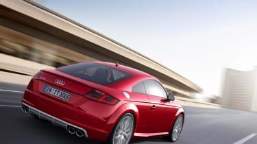 Audi TTS 2014 cornering