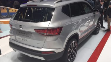 SEAT Ateca - Geneva show rear/side