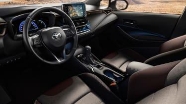 Toyota Corolla TREK - interior
