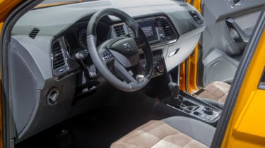 SEAT Ateca SUV 2016 - reveal interior