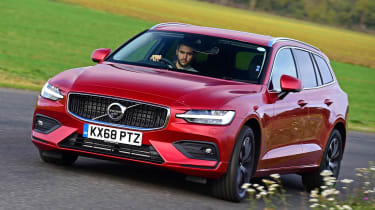 Volvo V60 D3 - front cornering
