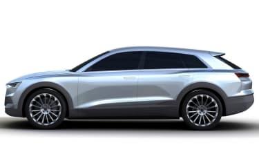 Audi Q6 e-tron render