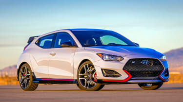 New Hyundai Veloster N - front
