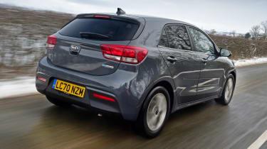 Kia Rio facelift - rear
