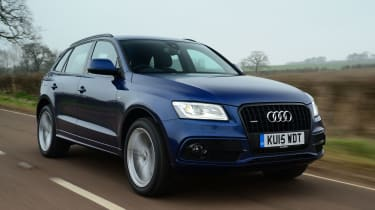The Q5 tested here is a 2.0 TFSI quattro S line Plus model, coming in at £41,585 as tested.