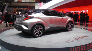 Toyota C-HR - Geneva rear three quarter