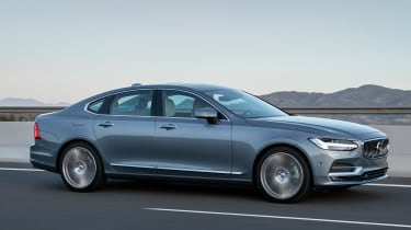 Volvo S90 saloon 2016 - side tracking