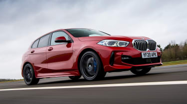 BMW 120d - front