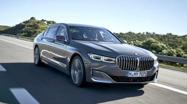 BMW 750i - front tracking