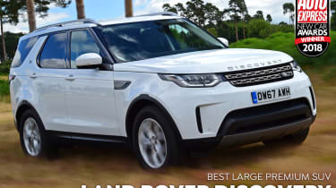 Land Rover Discovery - 2018 Large Premium SUV of the Year