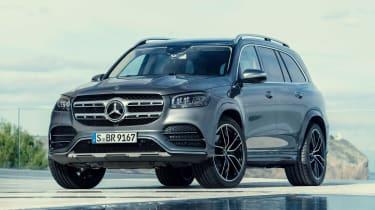Mercedes GLS - grey front static