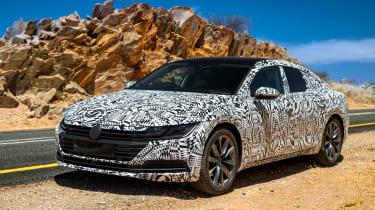 Volkswagen Arteon prototype - front quarter