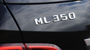 Mercedes ML 350 CDI badge