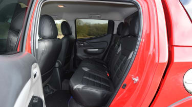 Mitsubishi L200 long-term test - rear seats