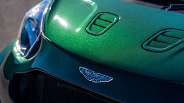 Aston Martin V8 Cygnet - bonnet