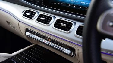Mercedes GLS - vents