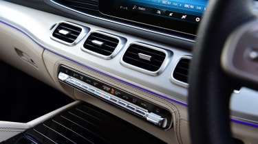 Mercedes GLS - vents