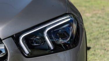 Mercedes GLE - front light