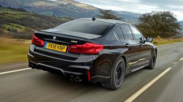 BMW M5 - rear