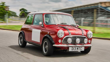 David Brown Mini Remastered - front cornering