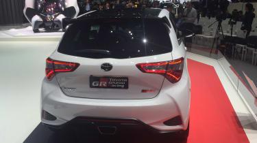 Toyota Yaris GRMN hot hatch 2017 - Geneva rear 2