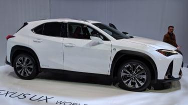 Lexus UX SUV at Geneva Motor Show