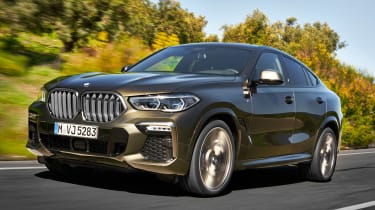 BMW X6 - front