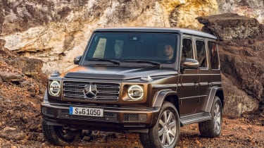 Mercedes G-Class - front static