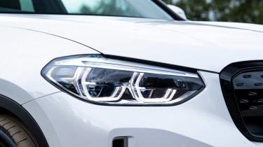 BMW iX3 - front lights