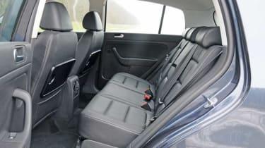 Volkswagen Golf Plus rear seats