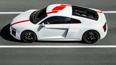 Audi R8 V10 RWS - side action