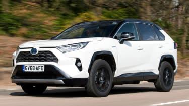 Toyota RAV4 - front tracking
