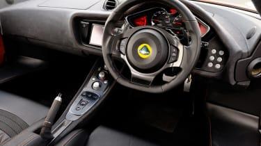 Lotus Evora 414E interior