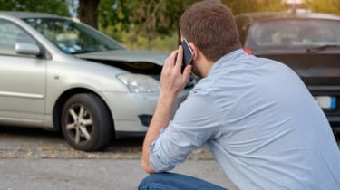 Calling Insurance after accident