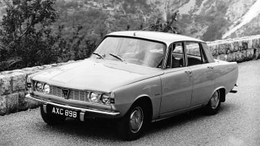 Rover P6 - front (© Heritage Motor Centre, Gaydon)